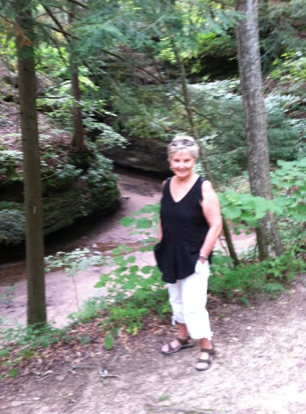 Goal achieved--a few minutes in the rustling  woods for a pine-drenched reverie with my mother!