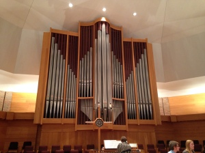 Organ Pipes in Calvin's Chapel