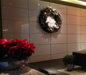 From the foyer of my home to yours on this holiday!